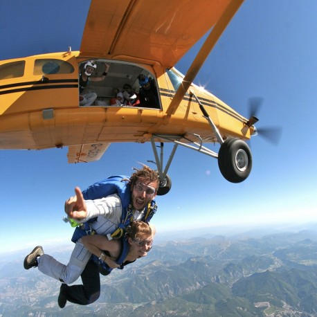 Saut en parachute tallard gap